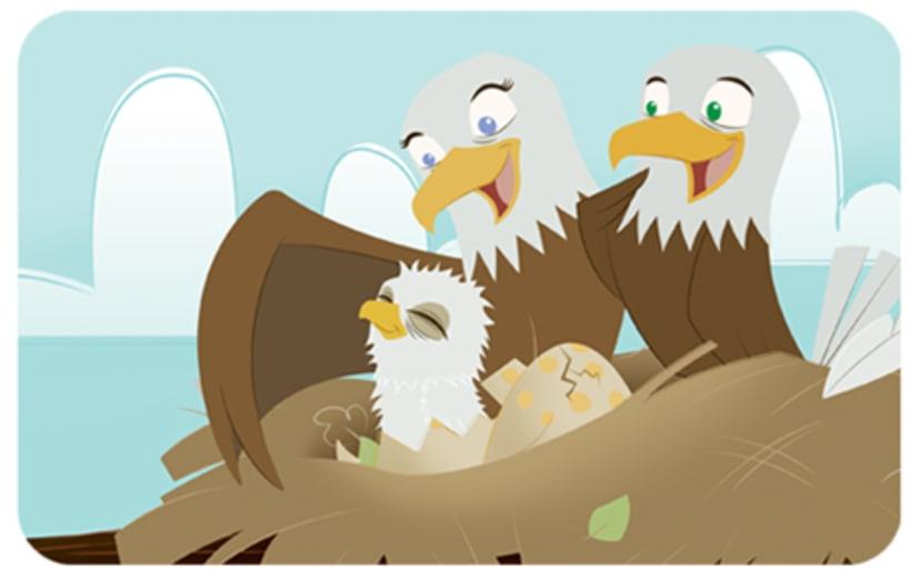 Eaglets  0