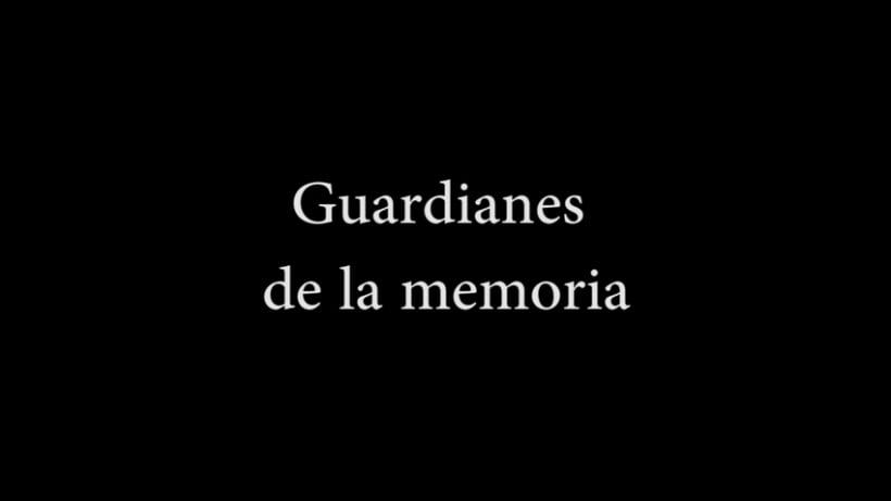 Corto Documental: Guardianes de la memoria 0