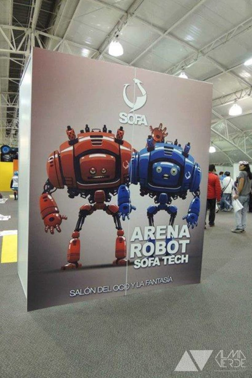 Feria Sofa 2014 - Corferias 1