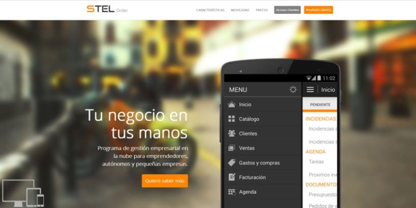 Página web de STEL Order 2