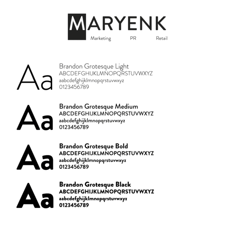 Branding MARYENK Marketing & PR 4