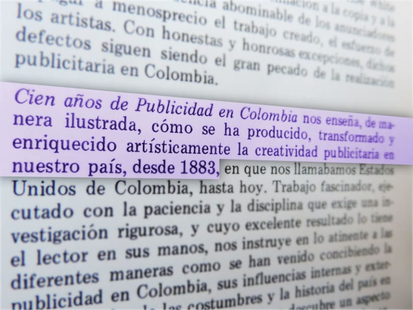 Publicidad Gráfica en Colombia 1