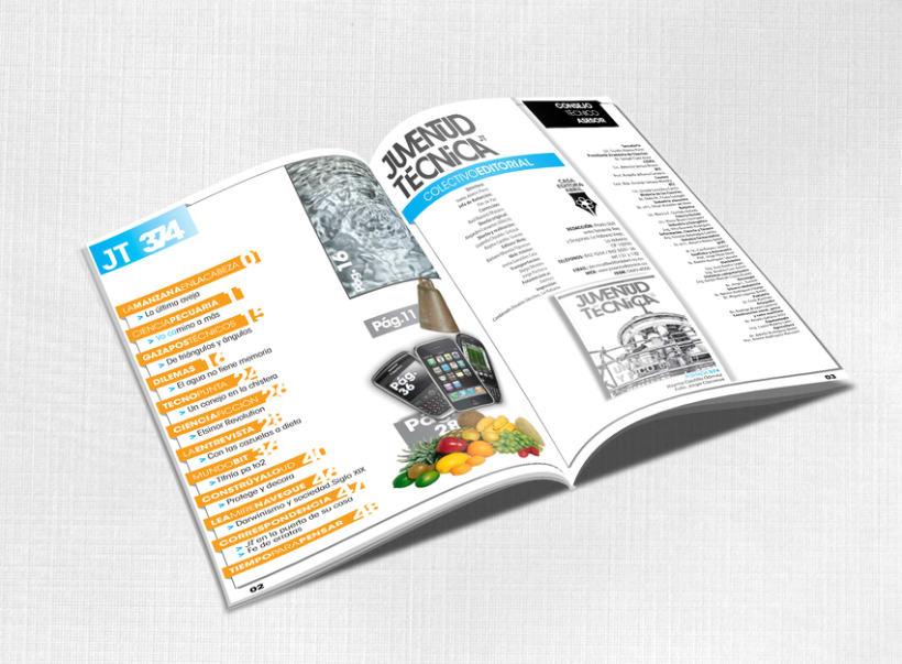 Editorial / Revista Juventud Técnica 1