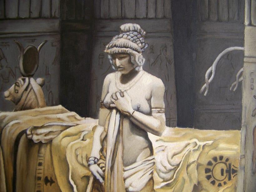 Paulina en el templo de isis 4