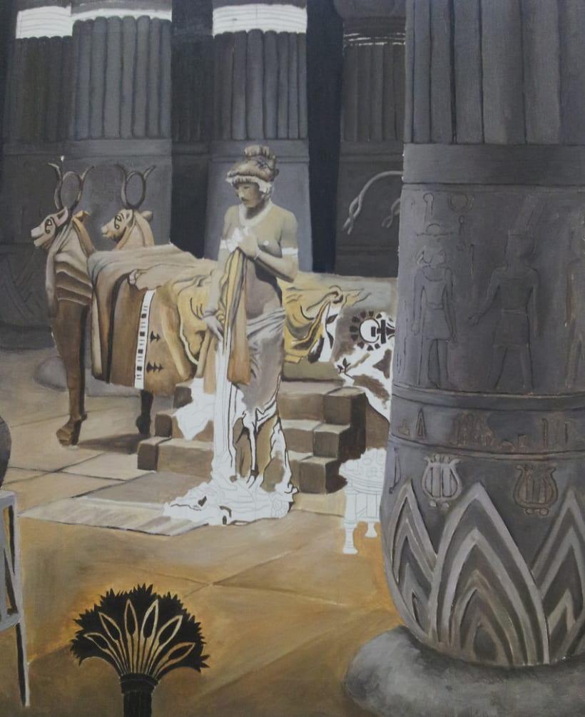 Paulina en el templo de isis 3