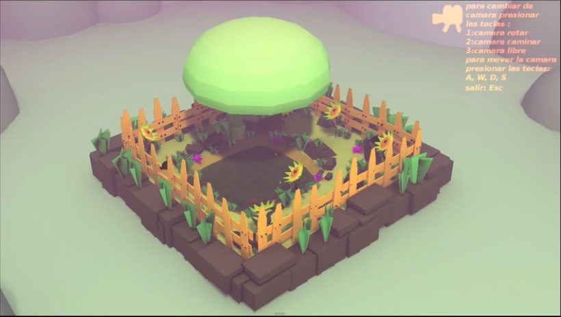 blender game engine el pequeño estanque -1