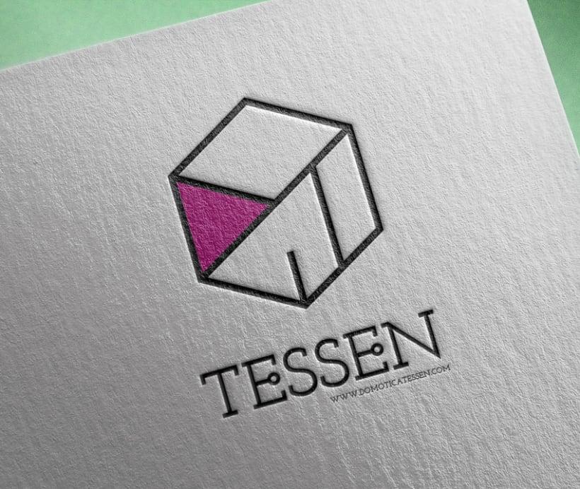 Domótica Tessen Logo 0