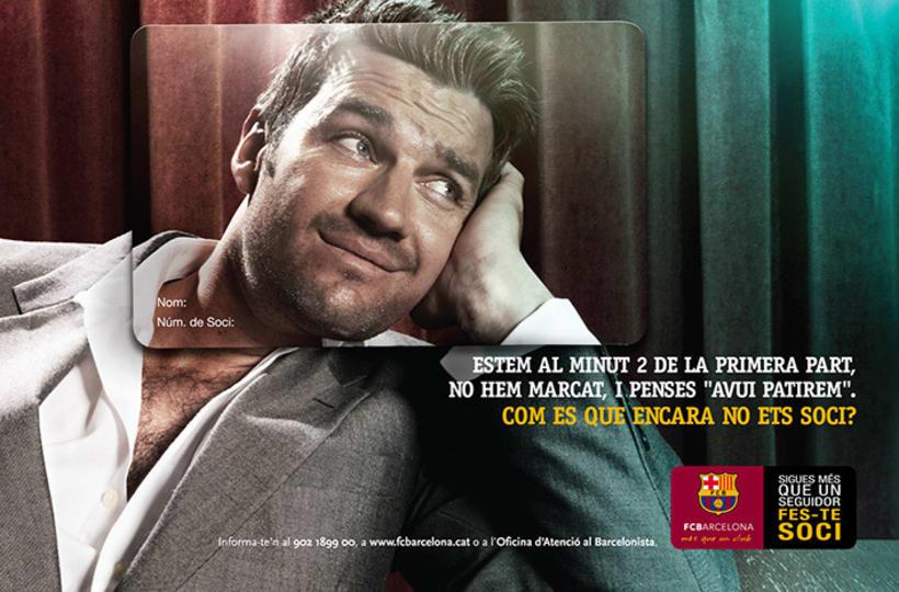 FCB · Campaña captación socios 2