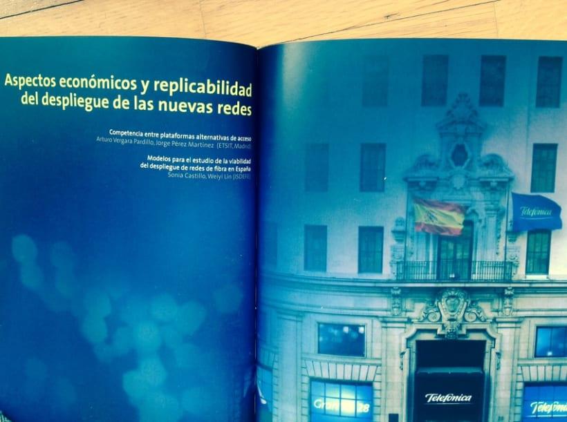 """Correctora de estilo revista """"Política Económica y Regulatoria en Telecomunicaciones"""" 0"""