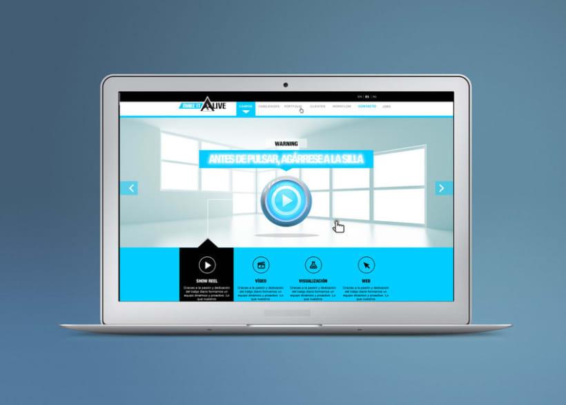 MakeitAlive - Web design & concept -1