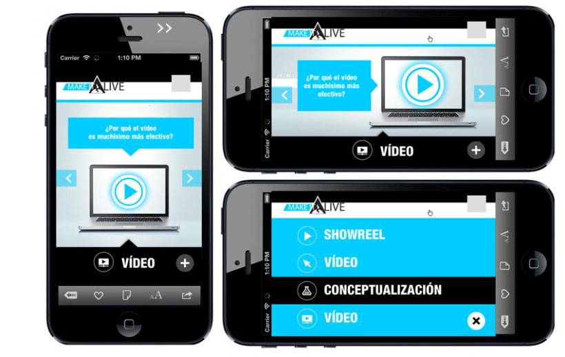MakeitAlive - Web design & concept 0