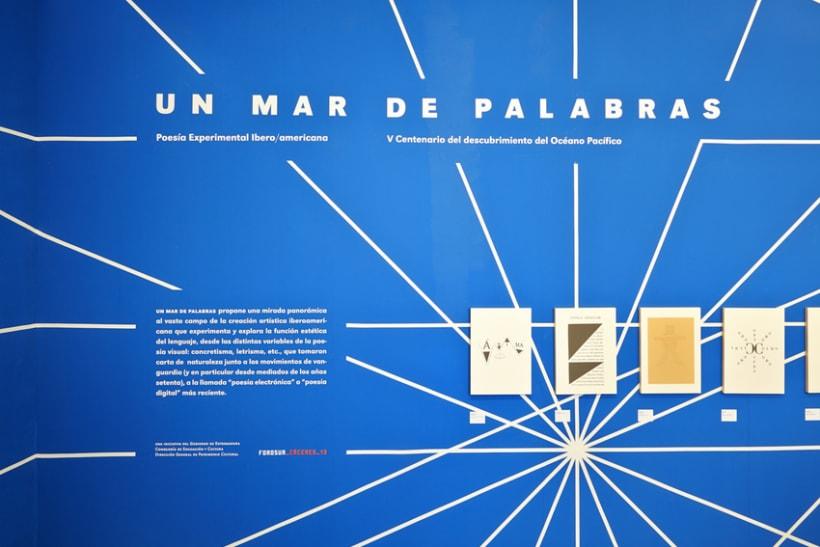 Un mar de palabras / Poesía experimental iberoamericana 3
