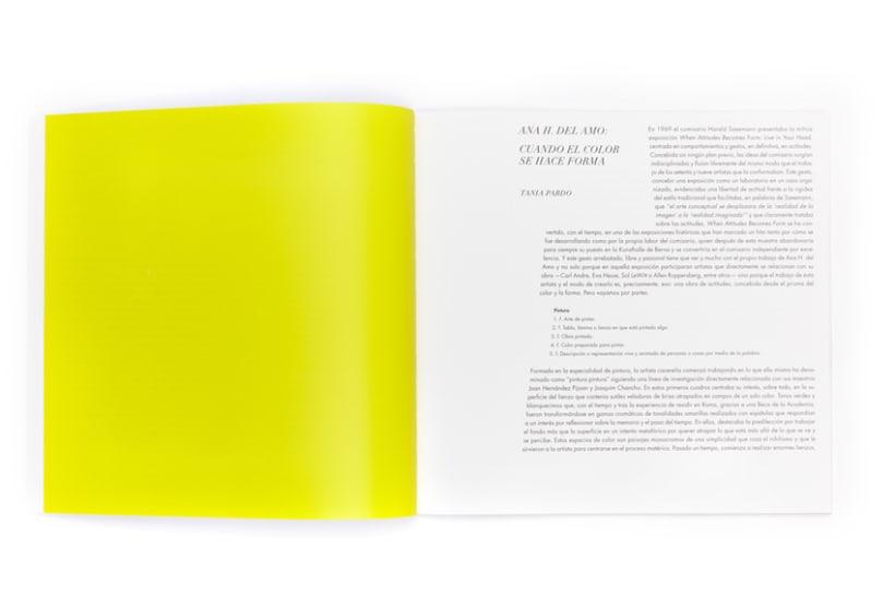 Catálogo exposición Ana H. del Amo, Blue Note 2