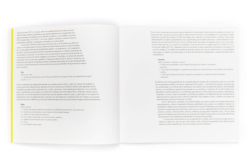 Catálogo exposición Ana H. del Amo, Blue Note 3