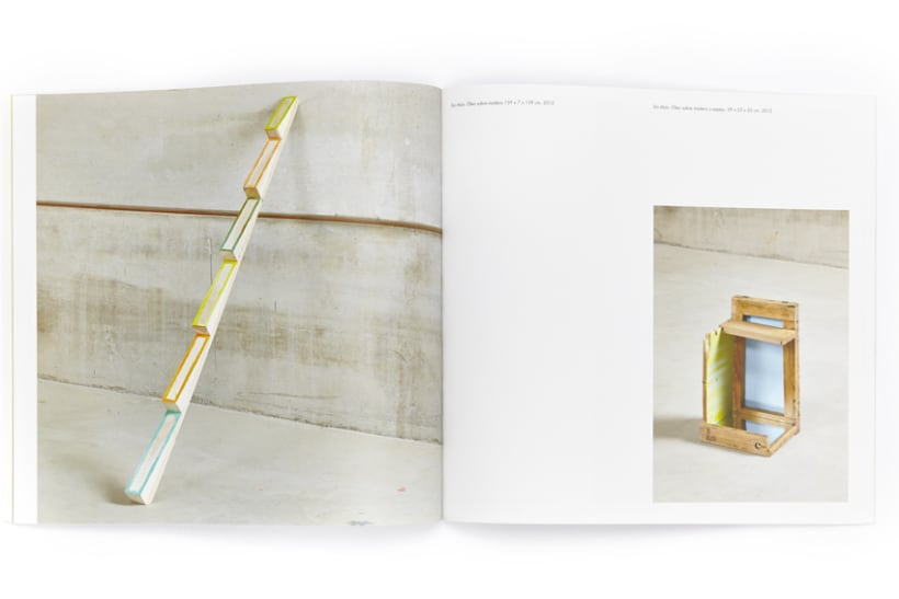 Catálogo exposición Ana H. del Amo, Blue Note 5