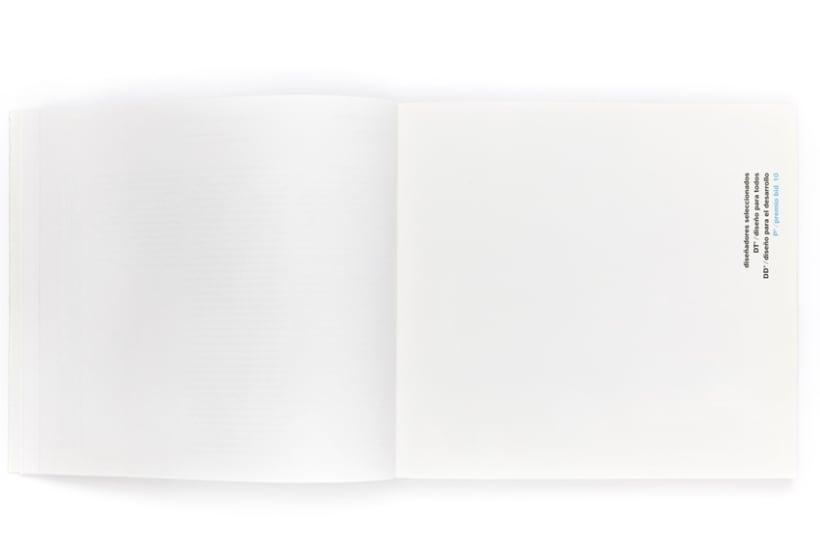 Diseño gráfico de catálogo Bienal iberoamericana de diseño 2