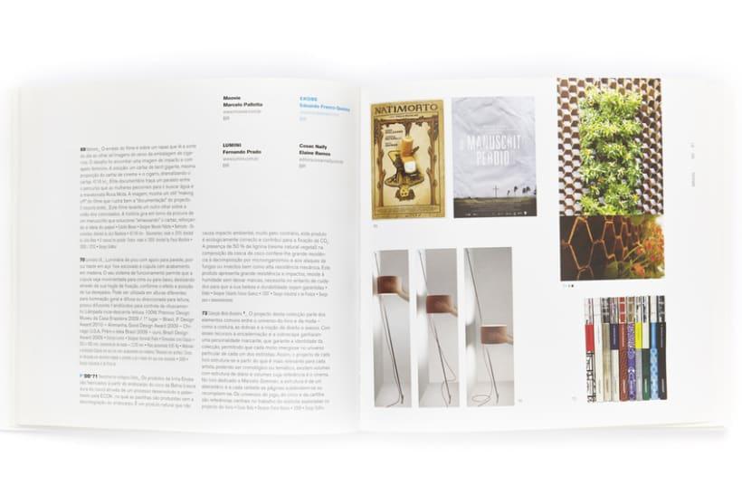 Diseño gráfico de catálogo Bienal iberoamericana de diseño 3