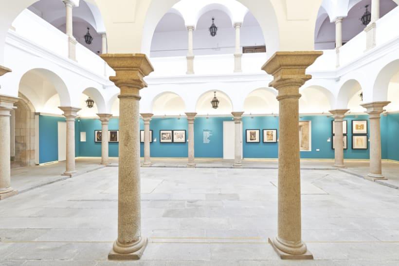 Diseño expositivo Doce artistas en el Museo del Prado -1
