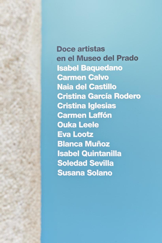 Diseño expositivo Doce artistas en el Museo del Prado 2