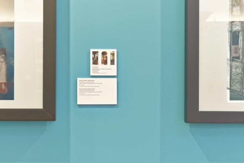 Diseño expositivo Doce artistas en el Museo del Prado 3