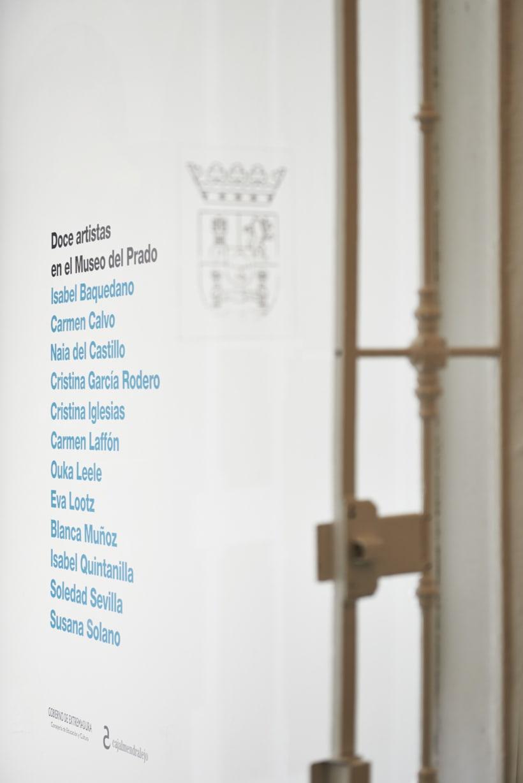 Diseño expositivo Doce artistas en el Museo del Prado 4