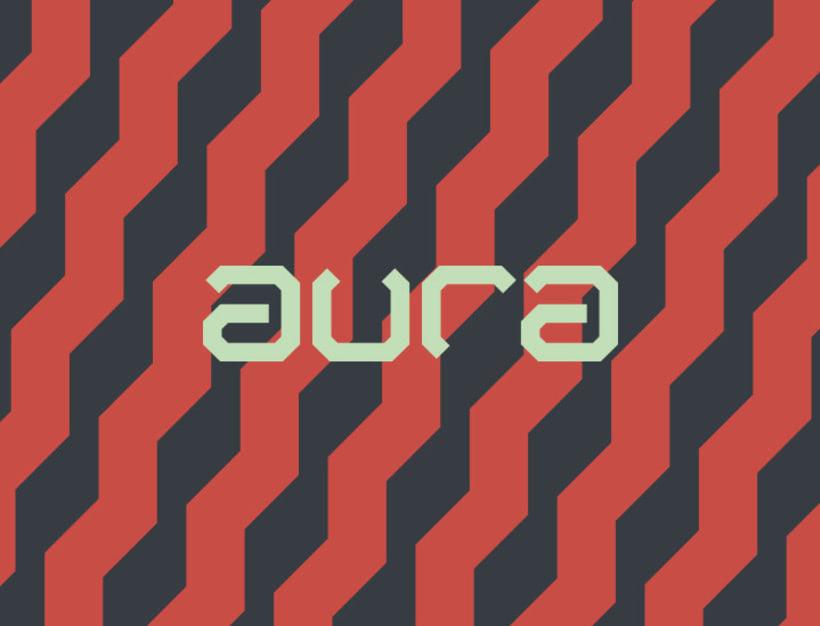 AURA Café. Diseño de Marca e Identidad. 0