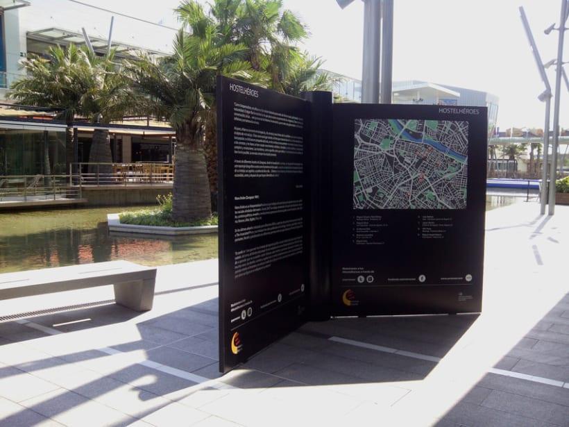 Exposición Hostelhéroes 2