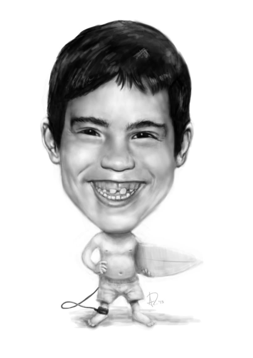 Caricaturas y retratos 7