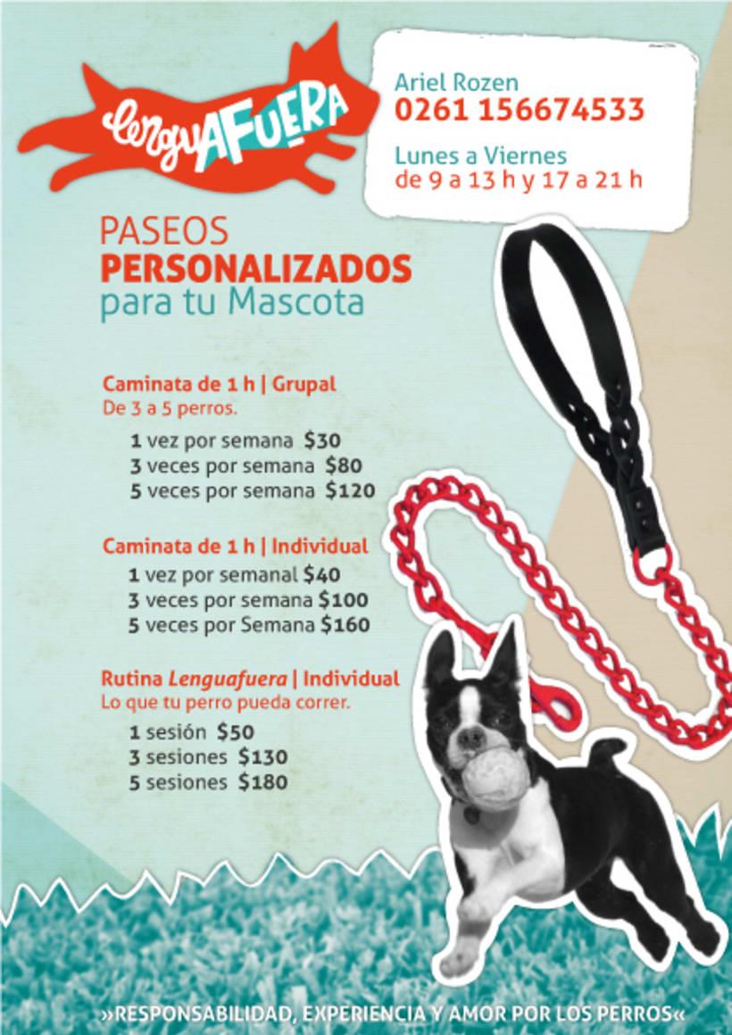 Lenguafuera   Paseos personalizados para tu mascota. 2