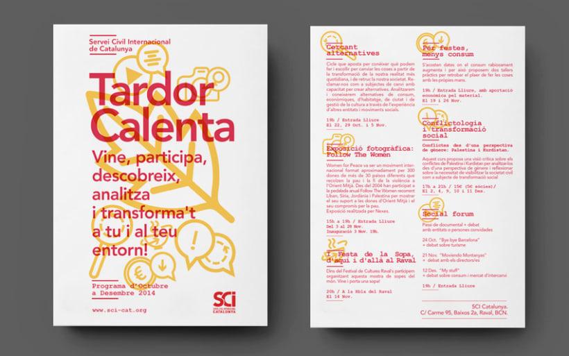 Cartells: Servei Civil Internacional de Catalunya 1