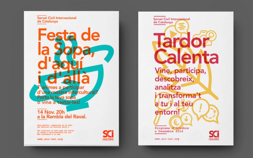 Cartells: Servei Civil Internacional de Catalunya 0