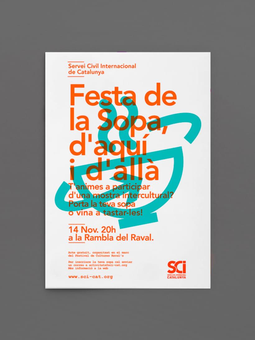 Cartells: Servei Civil Internacional de Catalunya 4