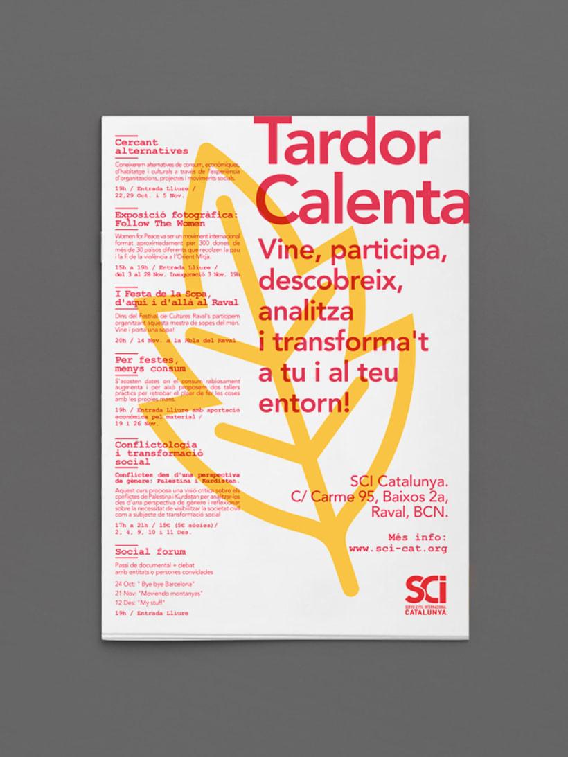 Cartells: Servei Civil Internacional de Catalunya 8