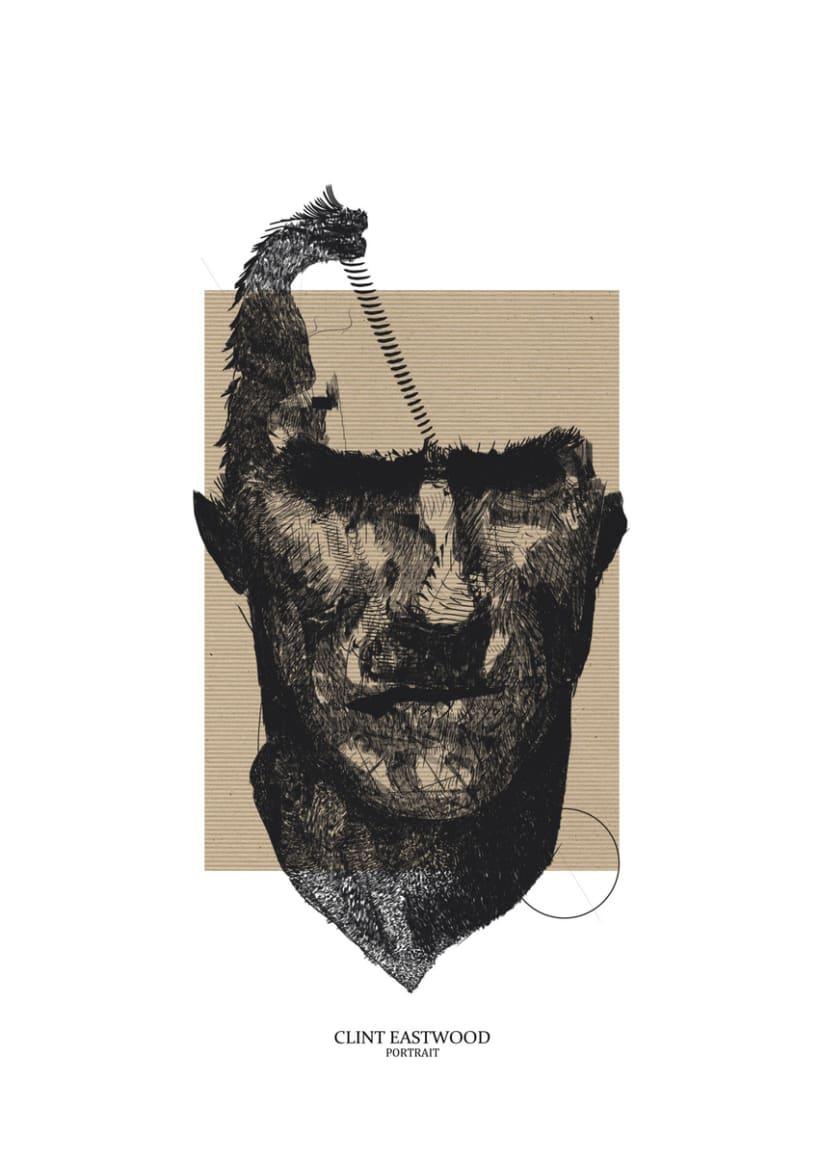 Serie Lineal Portrait  0