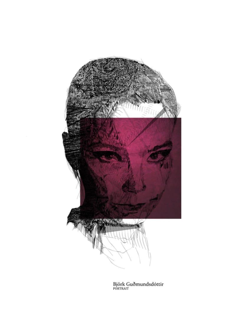 Serie Lineal Portrait  1