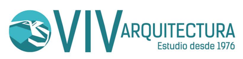 VIV-arquitectura.com / Diseño de imagen corporativa y web 1