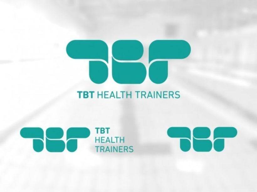 Diseño de marca para TBT Health Trainers 2