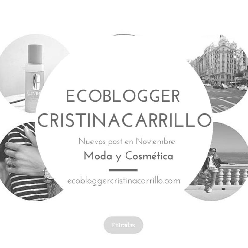 Eco Blogger Cristina Carrillo 0