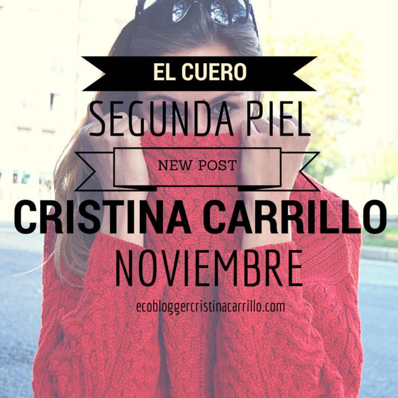 Eco Blogger Cristina Carrillo 1