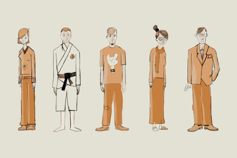 Personajes - I 6