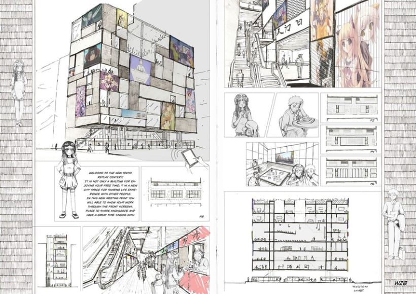 Akihabara Arquitecture Project -1