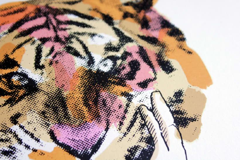A tiger in Hamburg 2