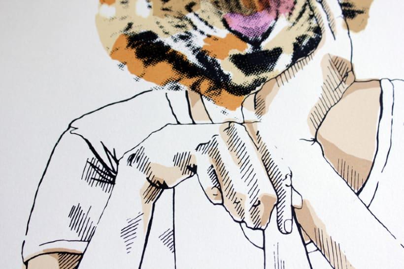A tiger in Hamburg 3