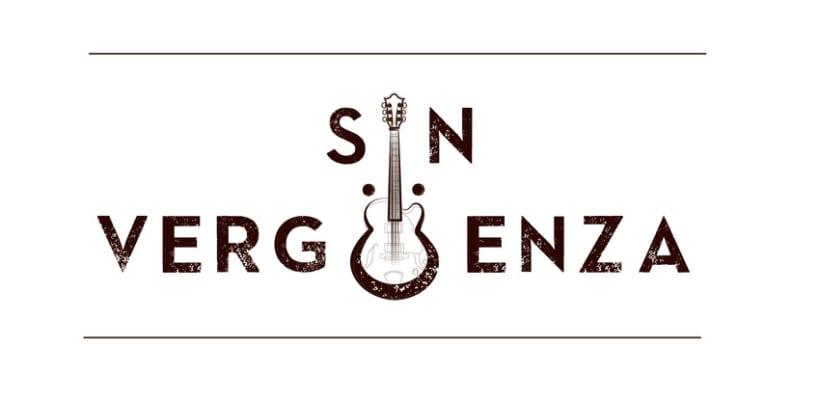 Logo grupo de Rock - SINVERGÜENZA - -1