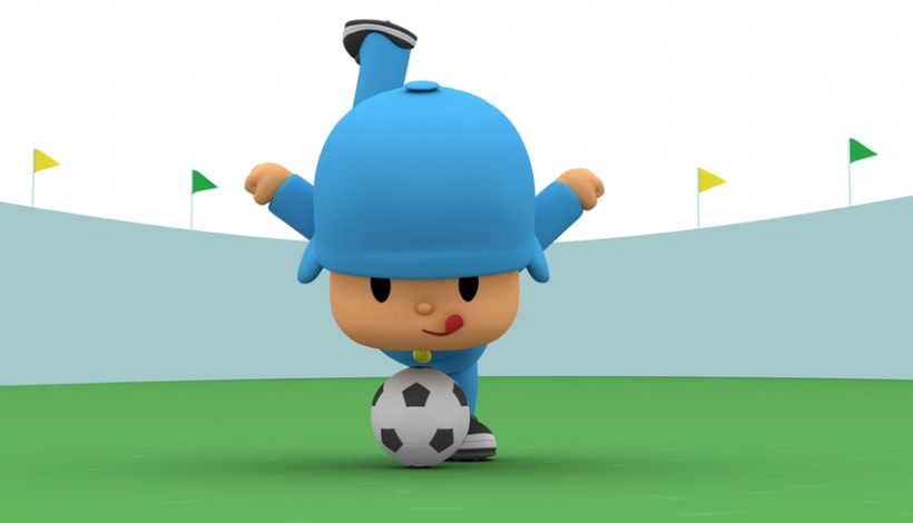 Pocoyo Mundial Brasil 2014. (Making off) 2