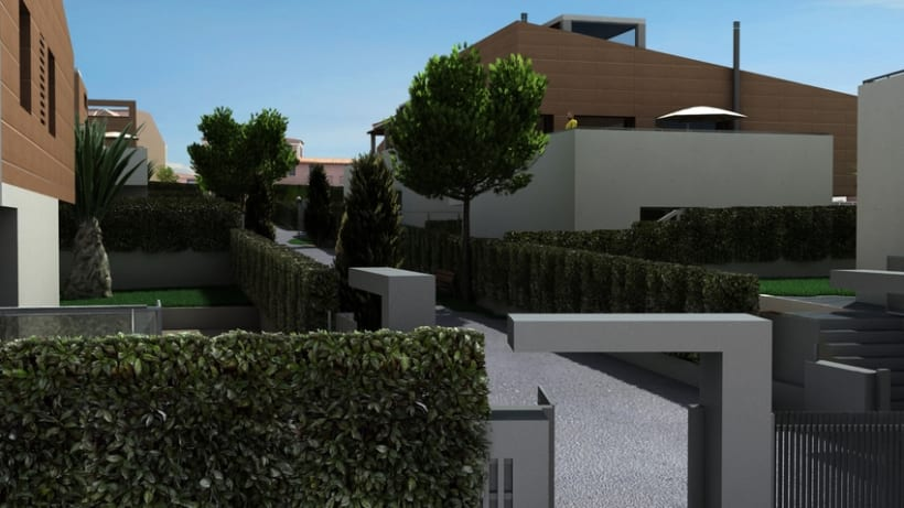 Casas residenciales Mirasol 3D 0