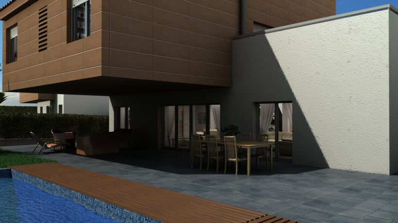 Casas residenciales Mirasol 3D 1