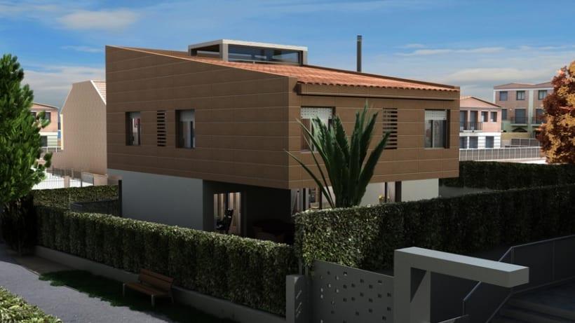 Casas residenciales Mirasol 3D 2