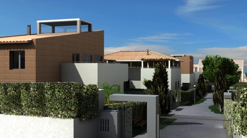 Casas residenciales Mirasol 3D 4