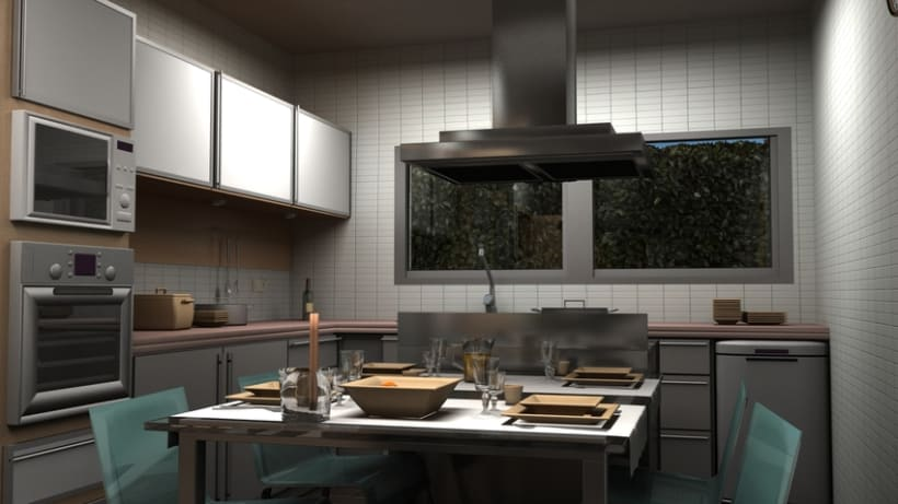 Casas residenciales Mirasol 3D 5
